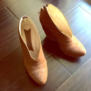 Boutique 9 Brown Suede/Leather Booties